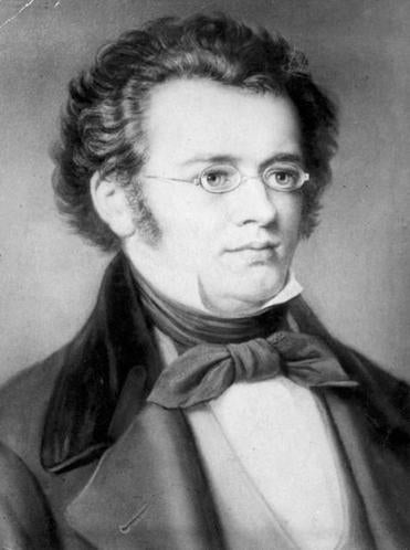 "Franz Schubert, composer  of the song cycle ""Winterreise."""